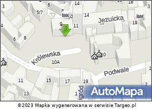 Spotkania organizacyjne dla służb. Mapa Polski Targeo