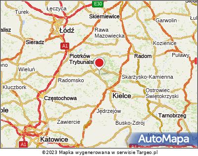 Sielpia Mapa