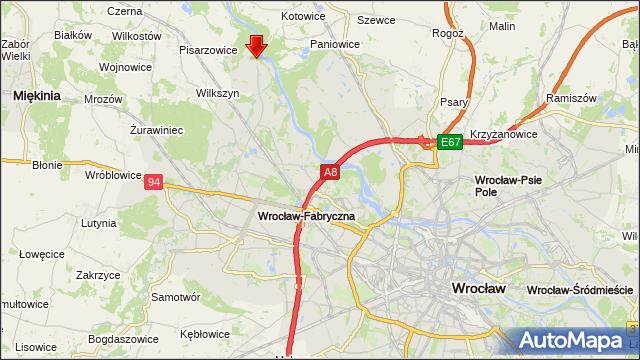 Mapa Polski Targeo
