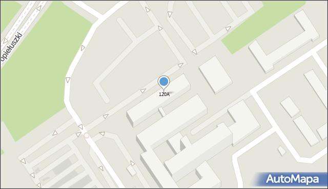 Ostrołęka, Aleja Jana Pawła II, 120A, mapa Ostrołęka