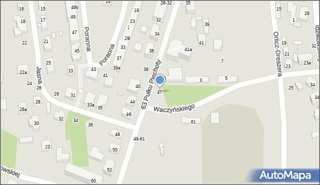 Toruń, Armii Ludowej, 47, mapa Torunia