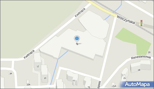 Warszawa, Aspekt, 79, mapa Warszawy