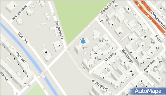 Gliwice, Berbeckiego Leona, 6, mapa Gliwic