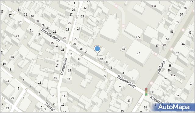 Bydgoszcz, Braci Śniadeckich Jana i Jędrzeja, 12, mapa Bydgoszczy