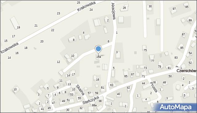 Czernichów, Czernichów, 44, mapa Czernichów