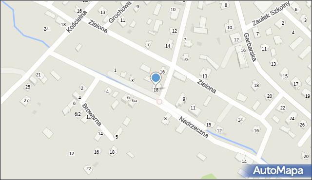 Krynki, Czysta, 10-2, mapa Krynki