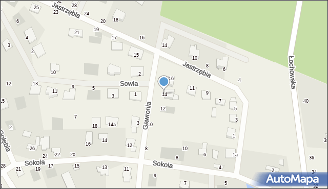 Murowaniec, Gawronia, 14, mapa Murowaniec