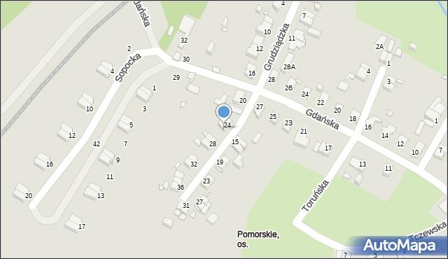 Jelenia Góra, Grudziądzka, 26, mapa Jelenia Góra