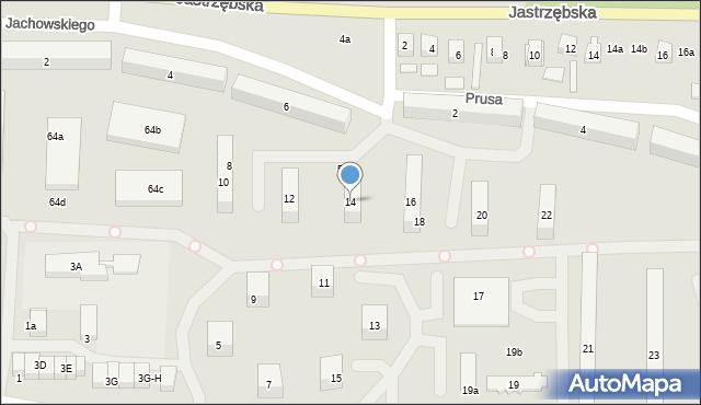 Szydłowiec, Jachowskiego Władysława, 14, mapa Szydłowiec