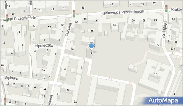 Lublin, Karłowicza Mieczysława, 4, mapa Lublina