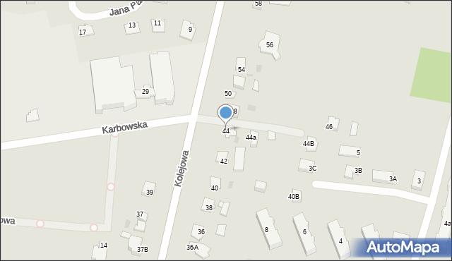 Brodnica, Kolejowa, 44, mapa Brodnica