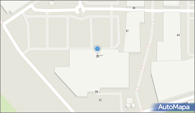 Warszawa, Malborska, 35, mapa Warszawy