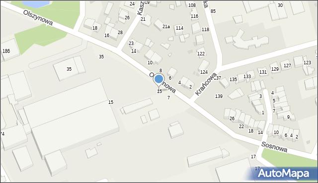 Wysogotowo, Olszynowa, 15, mapa Wysogotowo