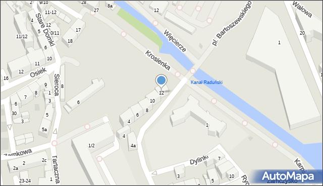 Gdańsk, Plac Obrońców Poczty Polskiej, 12, mapa Gdańska