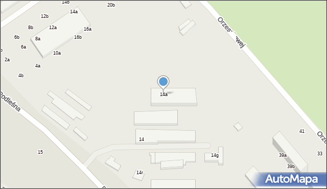 Stargard, Podleśna, 14a, mapa Stargard
