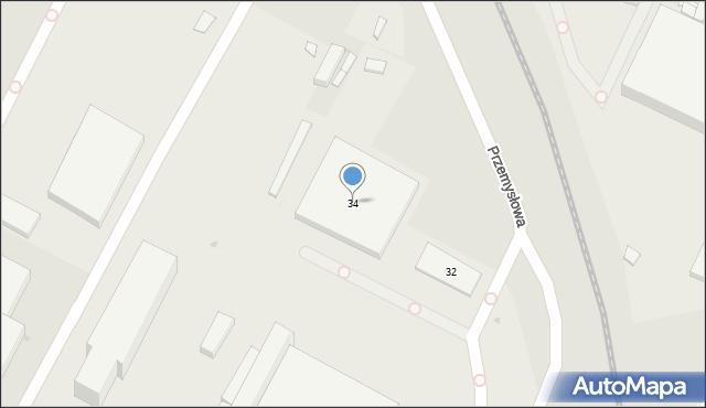 Bydgoszcz, Przemysłowa, 34, mapa Bydgoszczy