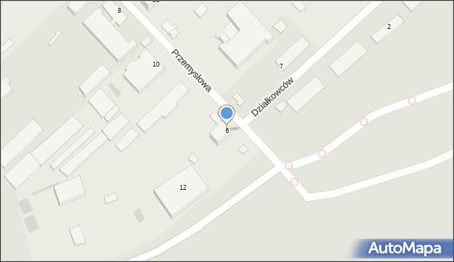 Sandomierz, Przemysłowa, 6, mapa Sandomierza