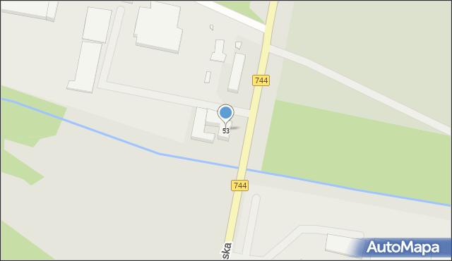 Starachowice, Radomska, 53, mapa Starachowic