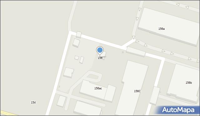 Łódź, Rokicińska, 156, mapa Łodzi