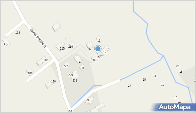 Kobylany, Spokojna, 10, mapa Kobylany