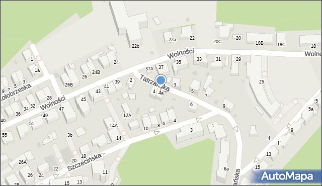 Gdynia, Tatrzańska, 4a, mapa Gdyni
