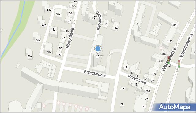 Kielce, Targowa, 18, mapa Kielc