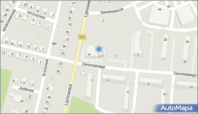 Golub-Dobrzyń, Żeromskiego Stefana, 1, mapa Golub-Dobrzyń