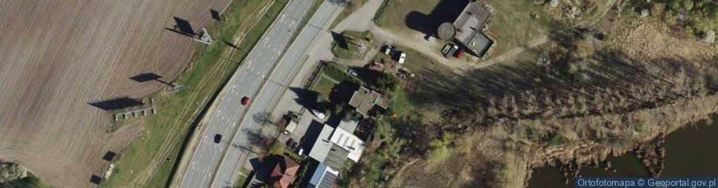 Zdjęcie satelitarne 28 Czerwca 1956 r. ul.