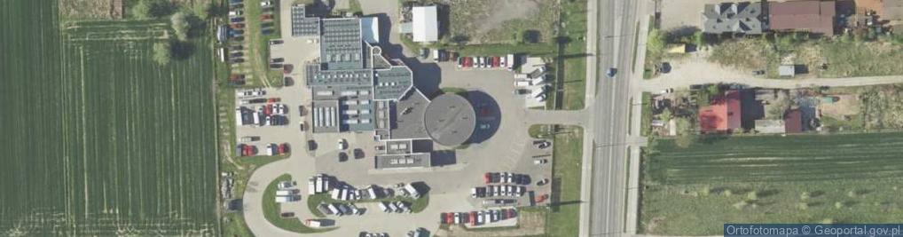 Zdjęcie satelitarne Abramowicka 45
