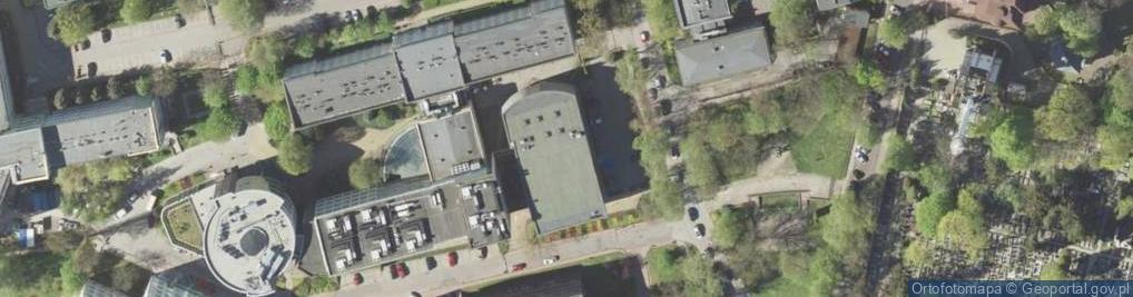 Zdjęcie satelitarne Akademicka 15