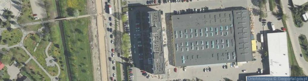 Zdjęcie satelitarne Aleja 1000-lecia Państwa Polskiego al.