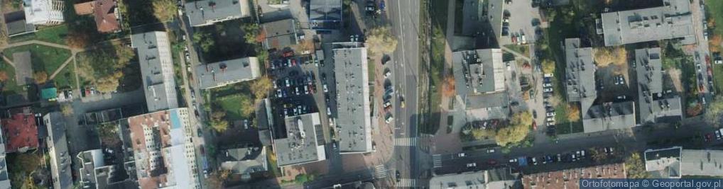 Zdjęcie satelitarne Aleja Armii Krajowej 1/3