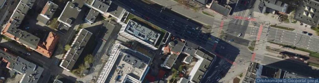 Zdjęcie satelitarne Aleja Grunwaldzka 46