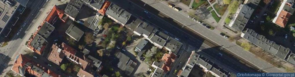 Zdjęcie satelitarne Aleja Grunwaldzka 68