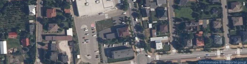 Zdjęcie satelitarne Aleja Niepodległości 22