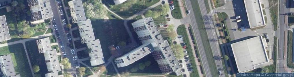 Zdjęcie satelitarne Aleja Niepodległości 30