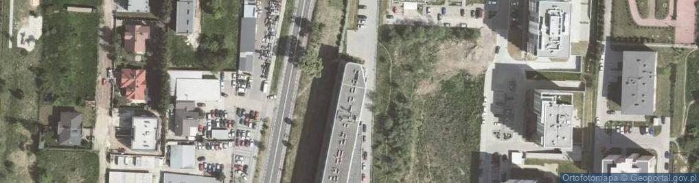 Zdjęcie satelitarne Aleja 29 Listopada al.