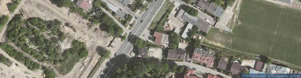Zdjęcie satelitarne Aleja 29 Listopada 155C