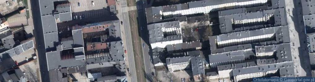 Zdjęcie satelitarne Aleja Kościuszki Tadeusza, gen. 24