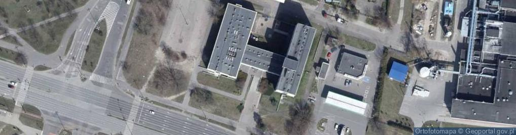 Zdjęcie satelitarne Aleksandrowska 61/63