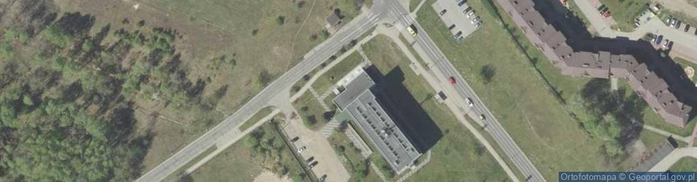 Zdjęcie satelitarne Aleja Jana Pawła II 120A