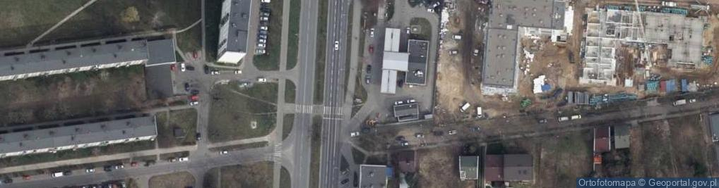 Zdjęcie satelitarne Aleja Armii Krajowej 22B