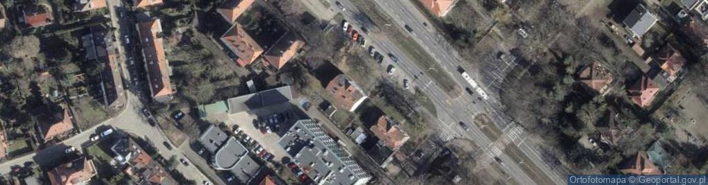 Zdjęcie satelitarne Aleja Wojska Polskiego 172