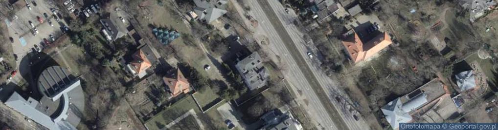 Zdjęcie satelitarne Aleja Wojska Polskiego 86