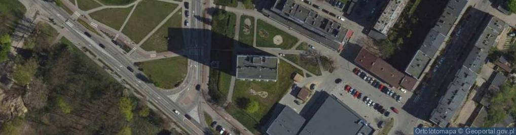 Zdjęcie satelitarne Aleja Zwycięstwa 20