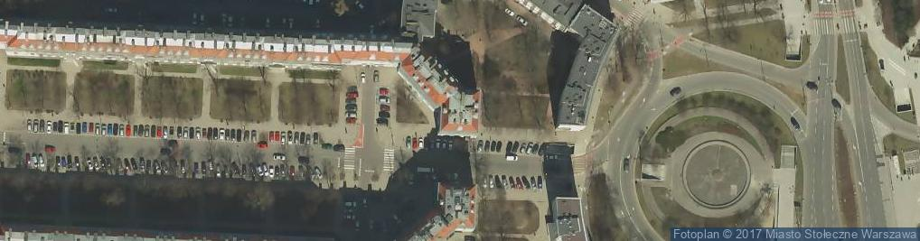 Zdjęcie satelitarne Aleja Wyzwolenia al.