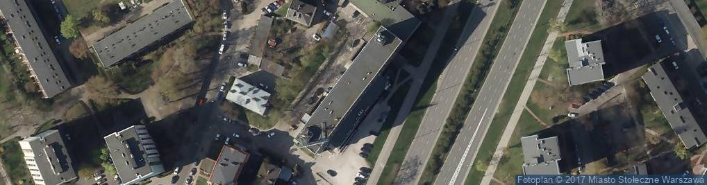 Zdjęcie satelitarne Aleja Stanów Zjednoczonych al.