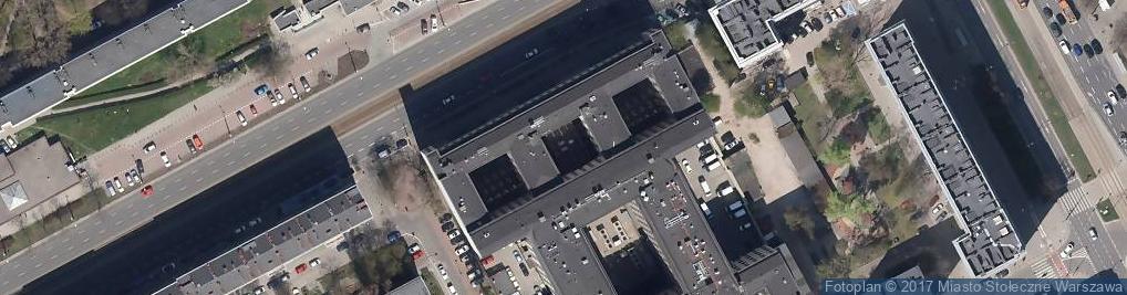 Zdjęcie satelitarne Aleja Solidarności 127