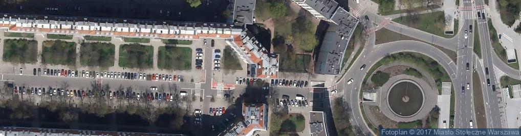 Zdjęcie satelitarne Aleja Wyzwolenia 6