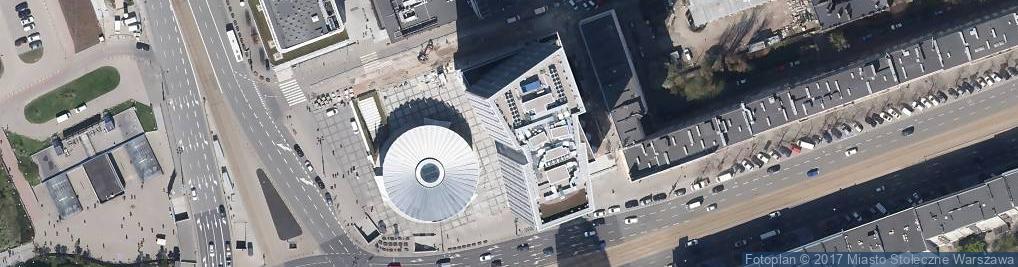 Zdjęcie satelitarne Aleje Jerozolimskie 44